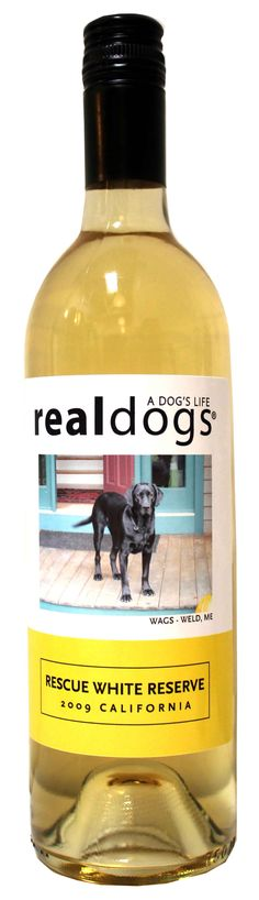 Customize your wine bottle by putting your pet's picture on it!  Fun AND tasty!