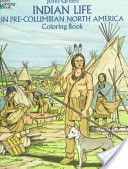 Has images of when explorers first encountered North American Indians.