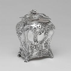 Tea Caddy Emick Romer (1724-1799) Date 1762-63