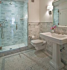 Carrara Marble Bathroom