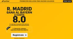 el forero jrvm y todos los bonos de deportes: betfair Real Madrid gana Bayern supercuota 8 Amist...