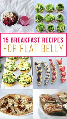 Breakfast and Brunch Recipes 15 Healthy Breakfast Recipes For Flat Belly Ideas To Lose Weight Healthy Belly Breakfast brunch Flat healthy breakfast Ideas Lose Recipes Weight Breakfast And Brunch, Clean Eating Breakfast, Diet Breakfast, Fast Breakfast Ideas, Healthiest Breakfast, Healthy Meal Prep, Healthy Snacks, Healthy Eating, Keto Meal