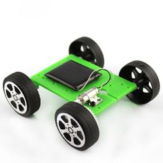 Hot Selling Mini Solar Powered Toy DIY Car Kit Children Educational Gadget Hobby Funny outdoor fun toys
