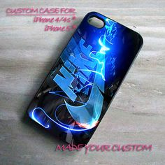 Nike Blue Logo, iPhone 4 Case, iPhone 4s Case, iPhone 5 Case, Samsung Galaxy S3 i9300, Samsung Galaxy S4 i9500