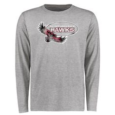 Saint Joseph's Hawks Big & Tall Classic Primary Long Sleeve T-Shirt - Ash - $29.99