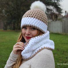The new Nordic snow set! Crochet pattern