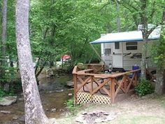 Enota RV Campground North Georgia Mountains Helen Hiawassee GA Camping