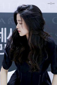Korean Beauty, Asian Beauty, Korean Celebrities, Celebs, Korean Girl, Asian Girl, Asian Wedding Makeup, Kim Min Hee, Long Dark Hair