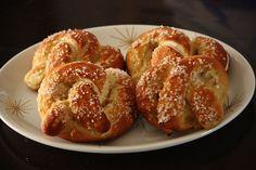 Vegan soft pretzels
