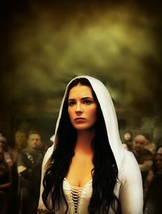 "Bridget Regan as Kahlan Amnell (Mother Confessor) in Legend of the Seeker (S1 2008-11-01 to S2 2010-05-22) • based on  novels series ""The Sword of Truth"" by Terry Goodkind • studio: Disney • writers: Goodkind + Sam Raimi • Wiki: http://en.wikipedia.org/wiki/Legend_of_the_seeker"
