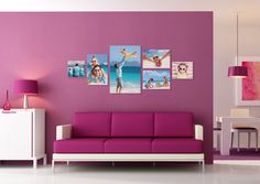 Learn how to turn your family photos into a beautiful gallery wall display.
