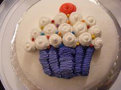 First cake (Wilton course 1)