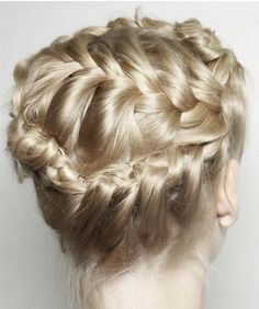 Pretty Hairstyles, Girl Hairstyles, Braided Hairstyles, Wedding Hairstyles, Style Hairstyle, Blonde Braids, Blonde Hair, Corte Y Color, Twist Braids