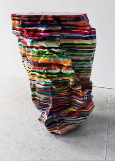 Markus Linnenbrink   2011  epoxy resin with pigments  42 x 24 x 28 inches