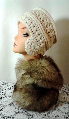 """Купить вязаная женская шапка""""Сударушка"""" - вязаная шапка, шапка крючком, ручная работа handmade"""