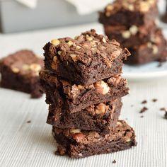 Paleo Fudgy Brownies and Hazelnuts