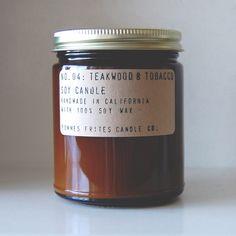 no. 4 // teakwood & tobacco