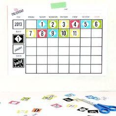 Printable Blank Calendars