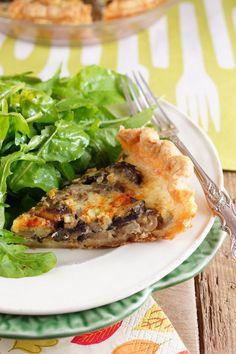 Savory Mushroom Shallot Pie / Patty's Food