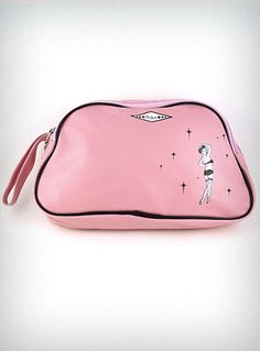 Pink Pin-Up Girl Cosmetic Bag | PLASTICLAND