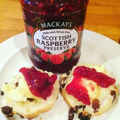#glutenfree #glutenfreefood #glutenfreebaking #glutenfreescones #jam #butter #afternoontea I'm enjoying a nice #glutenfree scone with real butter and jam #delicious I've posted the #recipe on my Instagram page easy to #cook and follow :-))) by dreamwalls