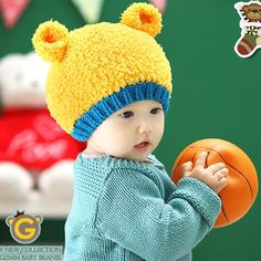 >> Click to Buy << Baby Beanies Knitted Hat Cartoon Bear Ears Bonnet Cap for Girls Solid Boys Winter Warm Children Hat Toddler Photography Props #Affiliate