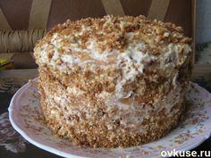 Торт с орехами - Простые рецепты Овкусе.ру
