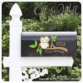 Owl Vinyl Mailbox Lettering Decoratio...