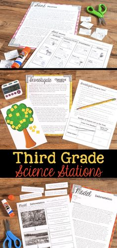 Keeping students on task and learning science content is hard, but here are four tips that will make your elementary science stations run smoothly. Third Grade Science, Elementary Science, Science Classroom, Teaching Science, Science For Kids, Science Activities, Science Projects, Fourth Grade, 3rd Grade Science Experiments