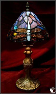 Vase en cristal de boh me couleur rouge ferrari taille diamant d coration de maison pinterest - Meuble tiffany ...