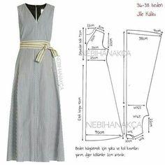 El patrón del vestido del géne