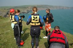 Have you been coasteering with us? Half price for kids if you hire additional rash vests! Lily Pond, National Trust, Half Price, Sandy Beaches, Vests, Under Armour, Kids, Young Children, Boys