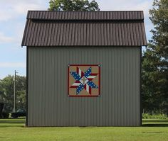The newest barn quilt of the Calloway County Quilt Trail. McKeel  332 Neale Trail Murray    8X8 God and Country
