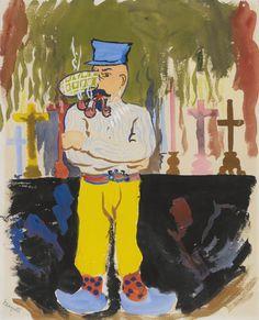 René Magritte : Le crime du pape (1948)
