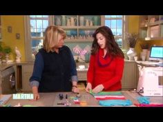 """Cheri Heaton, author of the blog """"I am Momma Hear Me Roar,"""" crafts a cute and clever girls' dress from reused old T-shirts.    Brought to you by Martha Stewart: http://www.marthastewart.com    Subscribe for more Martha now!: http://full.sc/PtJ6Uo     More Celebrity Clips: http://full.sc/RgYXXs    ---------------------------------------------------------..."""