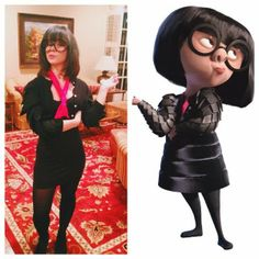 Edna Mode. And guest.