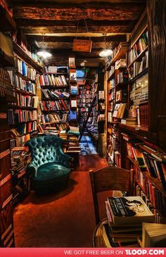 a beautiful bookstore