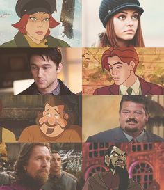 Anastasia to Live Action. Loved this movie when I was a kid! And Joseph Gordon-Levitt as Dimitri? YES