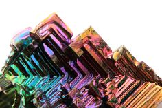 Glittering iridescently, bismuth crystals are hypnotically stunning and you can make your own at home! YouTube user NightHawkInLight shows you how to make your very own bismuth crystals in just a few easy steps. Check out the video below. Bismuth is a brittle metal with a silver color when first produced. Its surface oxidizes upon contact with the air, taking on a mesmerizing shimmer of all different colors.
