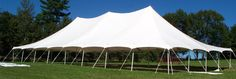 Camden tent rental -- approx. cost of tents