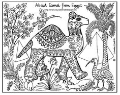 Amazing coloring pages inspired by different cultures - might be some good ideas for lessons here! Kids love these types of pics to colour in, great for motor skills and to fill in time. Will be using for my 'sub' kit.
