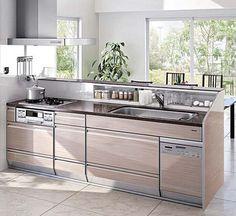Muji Haus, Kitchen Interior, Kitchen Decor, Modern Kitchen Design, House Design, Furniture, Home Decor, Kitchen Pantry Design, Home Architecture