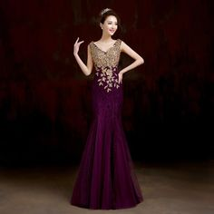 Cheap crystal old, Buy Quality dresses beautiful directly from China crystal dress shoes Suppliers: Sleeveless Elegant Party Floor Length Formal Red Royal Blue Mermaid Pink Sexy V neck Luxury Crystal Long Prom Dresses 2