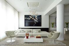 Вдохновение зимой: идей для создания элегантного дизайна в белых тонах. (16 фото)