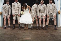 hahaha.  exactly what our groomsmen will be wearing.  we might need to get this picture!!!!