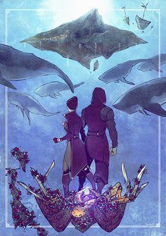 Dishonored 2 Fan Art // Emily Kaldwin and Corvo Attano Dishonored Emily, Dishonored Tattoo, Fantasy Landscape, Fantasy Art, Video Game Art, Video Games, Emily Kaldwin, Film Inspiration, Dragon Age