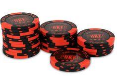 Rouleau 25 jetons Premium Poker Rouge - Pokeo.fr - Rouleau de 25 jetons de poker rouge Premium Poker en clay composit 14g pour joueurs confirmés, pour composer ou compléter sa mallette de poker.