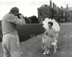 Earl Spencer and Raine Spencer at Althorp c.1989