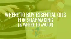 Not sure where to buy essential oils for soapmaking and cosmetics? Here's what to look for in a supplier, plus a huge resource list of suppliers around the globe!