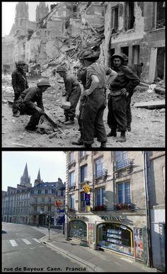 Rue de Bayeux  Caen   Normandia   #NORMANDIA1944